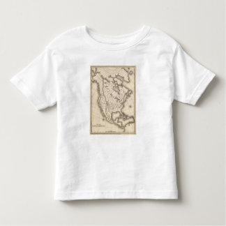Map of North America Toddler T-shirt