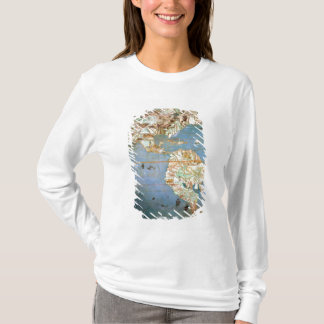 Map of North and South America T-Shirt