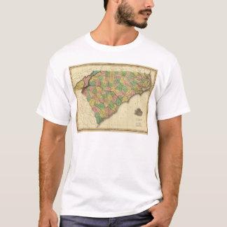 Map of North and South Carolina T-Shirt
