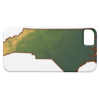 Map of North Carolina 2 iPhone 5 Covers