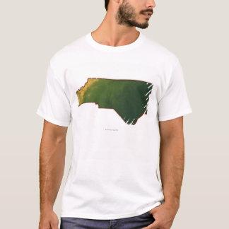 Map of North Carolina 2 T-Shirt