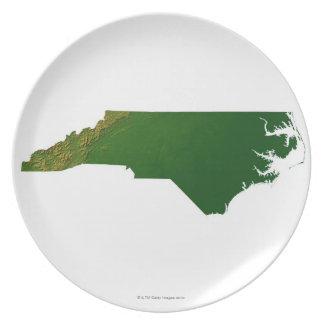 Map of North Carolina Plates