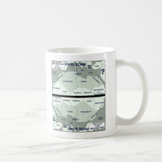 Map of Northen Africa/Southern Europe Coffee Mug