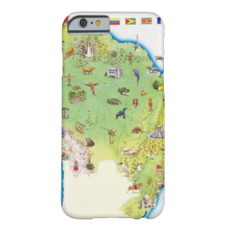 Map of Northern South America Barely There iPhone 6 Case