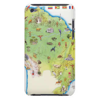Map of Northern South America iPod Case-Mate Cases