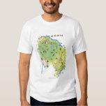 Map of Northern South America T Shirt