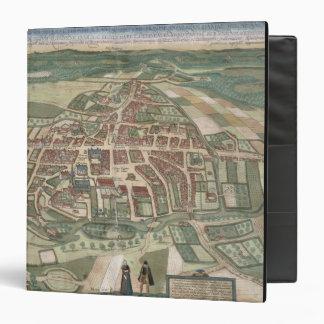 Map of Odense, from 'Civitates Orbis Terrarum' by 3 Ring Binder