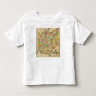 Map of Ohio 2 Toddler T-shirt