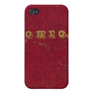 Map of Ohio iPhone 4 Covers