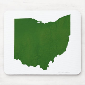 Map of Ohio Mouse Pad