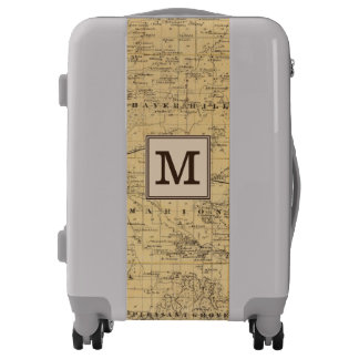 Map of Olmsted County, Minnesota | Monogram Luggage