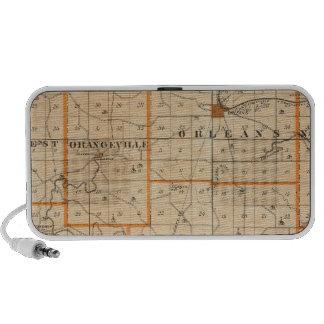 Map of Orange County Portable Speaker