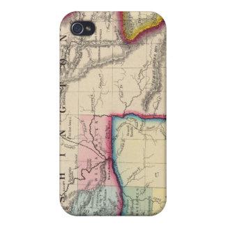 Map Of Oregon, Washington Case For iPhone 4