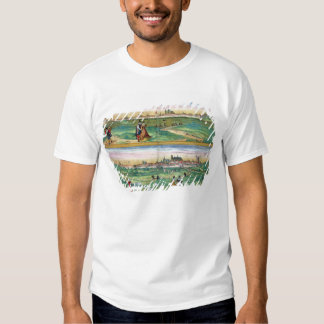 Map of Orleans and Bourges, from 'Civitates Orbis T Shirt