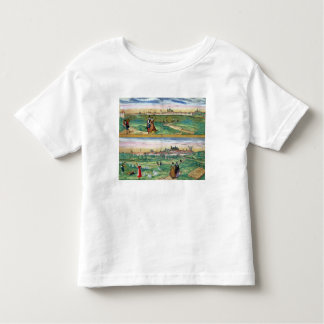 Map of Orleans and Bourges, from 'Civitates Orbis Toddler T-shirt