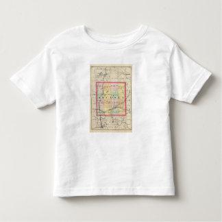 Map of Osceola County, Michigan Toddler T-shirt
