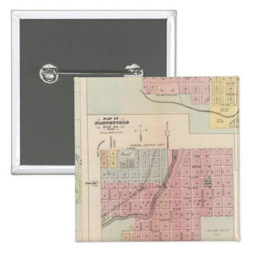 Map of Owatonna, Map of Mantorville, Minnesota Pin