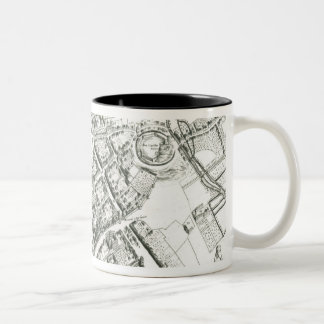 Map of Oxford, 1643 Coffee Mugs