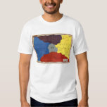 Map of Oz (front) T-shirt
