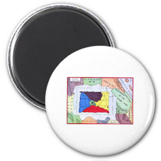 Map Of Oz Magnet
