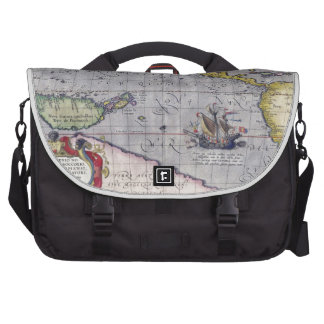 Map of Pacific Bag For Laptop