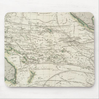 Map of Pacific Ocean Mouse Pad