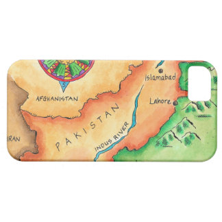 Map of Pakistan iPhone SE/5/5s Case