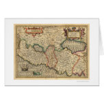 Map of Palestine and Surrounding Areas 1710 Card