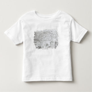 Map of Palestine, from a Passover Haggadah Toddler T-shirt