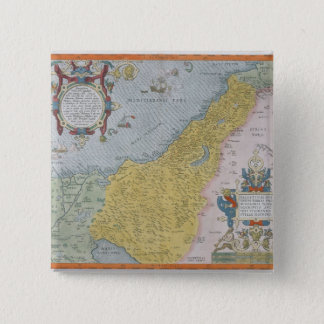Map of Palestine Pinback Button