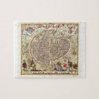 Map of Paris, 1576 Jigsaw Puzzle