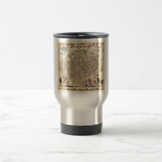 Map of Paris, 1576 Travel Mug