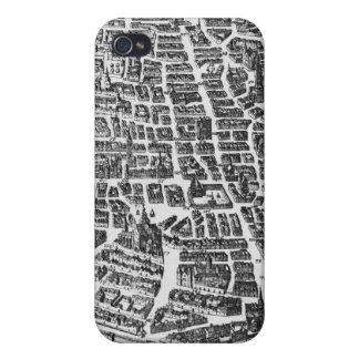 Map of Paris, 1620 iPhone 4 Cases