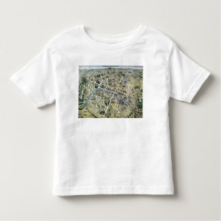 Map of Paris during the 'Grands Travaux' Toddler T-shirt