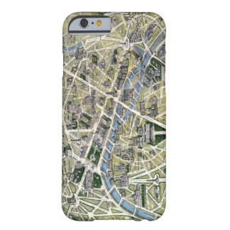 Map of Paris during the period of the Grands Barely There iPhone 6 Case