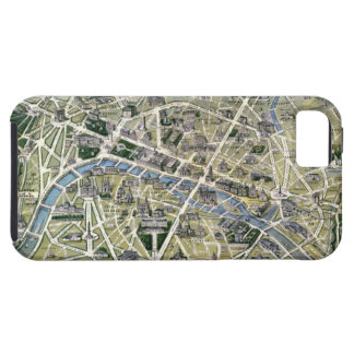 Map of Paris during the period of the Grands iPhone 5 Case