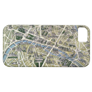 Map of Paris during the period of the Grands iPhone 5 Cover