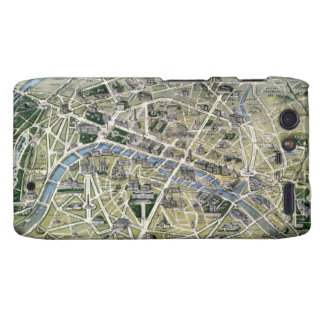 Map of Paris during the period of the Grands Droid RAZR Covers