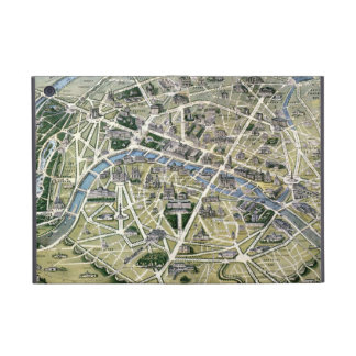 Map of Paris during the period of the Grands Covers For iPad Mini