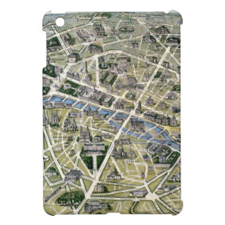 Map of Paris during the period of the Grands iPad Mini Covers