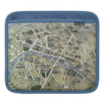 Map of Paris during the period of the Grands Sleeves For iPads