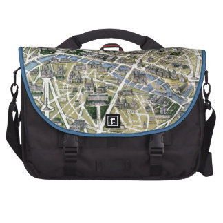 Map of Paris during the period of the Grands Laptop Bags