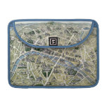Map of Paris during the period of the Grands Sleeve For MacBook Pro