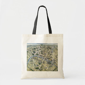 Map of Paris during the period of the Grands Tote Bag