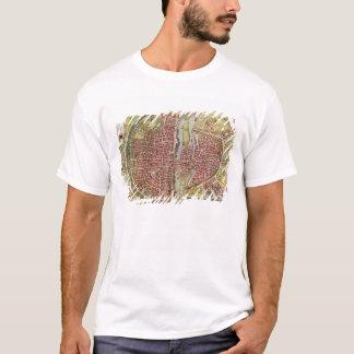 Map of Paris from 'Civitates orbis terrarrum' T-Shirt