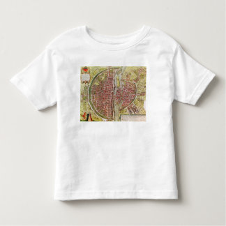 Map of Paris from 'Civitates orbis terrarrum' Toddler T-shirt