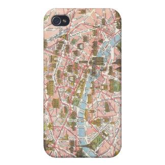 Map of Paris iPhone 4 Case