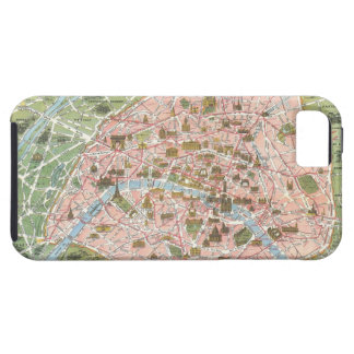 Map of Paris iPhone 5 Case