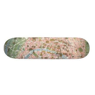 Map of Paris Skateboard Pro