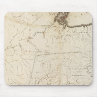 Map of part of the North West Territory Mouse Pad